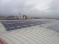 Installazione di impianto fotovoltaico da 82,00 kWp su copertura